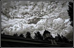 Sinaia monastery: Monks' cells under a special sky (Ioan BACIVAROV Photography) Tags: sinaia monastery monkscells special sky religion cloud clouds monk romania bacivarov ioanbacivarov bacivarovphotostream interesting beautiful wonderful wonderfulphoto nikon