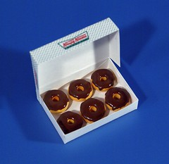 Dsc04476 (GreenWorldMiniatures) Tags: handmade 16 playscale miniature food donuts polymerclay greenworldminiatures