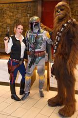 DragonCon 2016 Saturday-84 (Zaptomatic) Tags: dragoncon dragoncon2016 cosplay starwars chewbacca hansolo bobafett