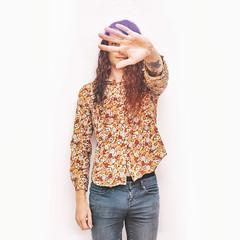 (Jonathan Minto) Tags: selfie selfportrait jonathanminto canon5dmkii colour color flash speedlite canon50mmeflens curly floral chap