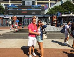 US-Open-2016-34 (fabergtourexperience) Tags: usopen tennis new york usa arthur ashe stadium stanislaswawrinka stan wawrinka novakdjokovic djokovic experience sporting events sunset sunny day