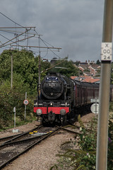 46115 - 1Z25 - Grantham - 25.09.2016(1) (Tom Watson 70013) Tags: grantham goods loop steam train rail railway station tour 1z25 derby derbyshire skegness children hospital royal scot 46115 lms 6115 guardsman wcrc engine west coast company