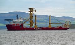 Ceona Amazon (Zak355) Tags: ceonaamazon ship boat vessel riverclyde shipping uniqueversatiledeepwaterfielddevelopmentvessel supply offshore subsea workboat rothesay isleofbute scotland scottish pipelayer