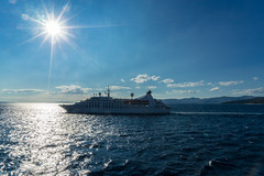 DSC03759-2 (UmitCukurel) Tags: split port vessel ferry ship sun sunset sonyalpha sky croatia city architecture transportation splitskodalmatinskaupanija hr