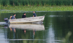 Fishing on Shabbona Lake
