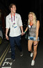 Team GB Athlete Joseph O'Regan leaving Chinawhite nightclub London, England