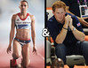 Jessica Ennis and Prince Harry. Whatever about the fact that she's already engaged to someone else.