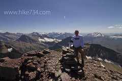 "Blake on Iceberg Peak looking south • <a style=""font-size:0.8em;"" href=""http://www.flickr.com/photos/63501323@N07/7747874962/"" target=""_blank"">View on Flickr</a>"