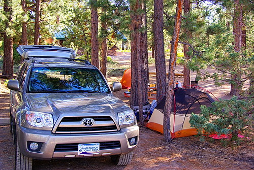 Sunset Campground - campsite #304 - Bryce Canyon National Park