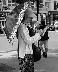 where am I? (Cheryl Meek ARPS) Tags: umbrella japanese map tourist parasol