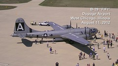 """B-29 """"FIFI"""" Birds-Eye View Time-Lapse (basicbill) Tags: sky clouds airplane flying airport aviation flight"""