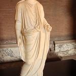 Togate statue with portrait of a princess (Claudia Octavia?) thumbnail