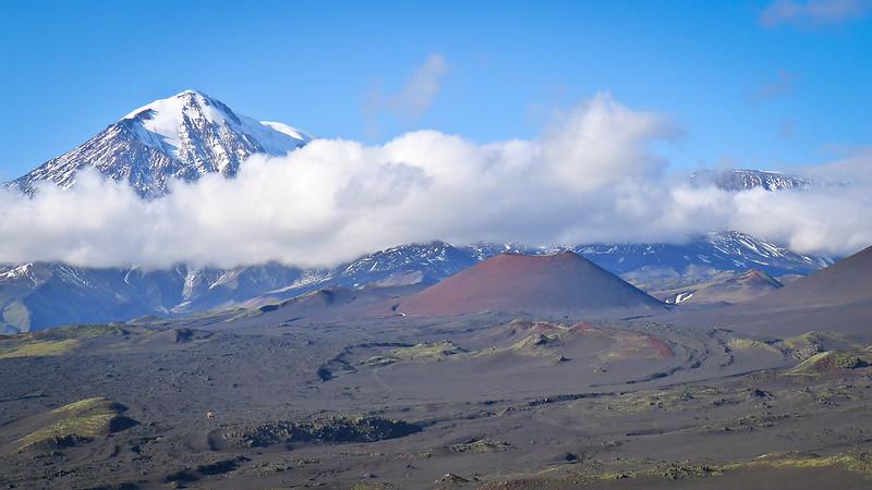Tolbachik Volcano Eruptions