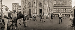 "Duomo Crowds, Florence • <a style=""font-size:0.8em;"" href=""https://www.flickr.com/photos/25932453@N00/7780913918/"" target=""_blank"">View on Flickr</a>"