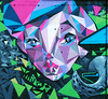 Triangle experience 2012 (TURKESA (old profile)) Tags: girl wall graffiti triangle toast saturno turkesa rabodiga saturnoags