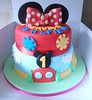 Mickey Mouse Clubhouse Birthday cake (Cakes by GG NI) Tags: birthday baby cute cars cake kids buzz toy mouse babies jake minne princess 1st handmade cartoon decoration woody prince disney mickey transformers knight childrens christening minnie custom edible cbeebies