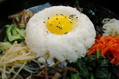 Raw egg (Ahsan Riaz Chaudhary) Tags: food tourism vegetables lunch restaurant rice egg delicious seoul southkorea koreanfood riaz rawegg ahsan chaudhary twittertuesday