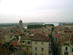 Arles un jour de pluie (Klovovi) Tags: panorama france rain pluie provence arles rhone bouchesdurhone