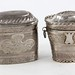 1064. (2) Dutch Silver Snuff Boxes