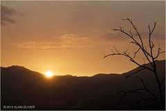 Coucher de soleil en Arvan