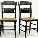 162. Pair of Hitchcock Style Chairs
