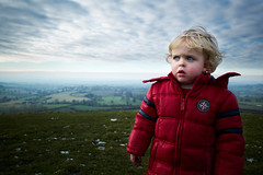 King of the World (ReportageImages) Tags: world leica boy portrait landscape king view top candid 28mm hill summicron vista asph m9 the of