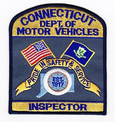 CT - State Department of Motor Vehicles Inspector (Inventorchris) Tags: public of