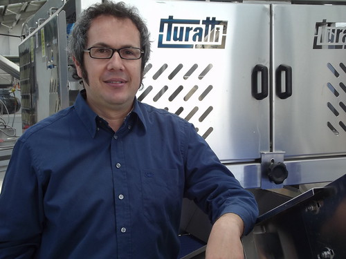 Alessandro Turatti at headquarters in Cavarzere, Italy