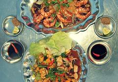 Rach Gia style seafood (hommedunord) Tags: fish lemon vietnam squid pepperoni prawn rachgia tamarind gulfofthailand