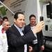 En la Inauguración del Hospital General Dr. José Severiano Reyes Brito.