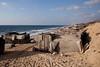 Côte au nord de Gaza