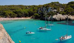 Menorca (Cervusvir) Tags: espaa beach spain playa menorca spanien balears mittelmeer islas cala mar mediterraneo baleares macarella
