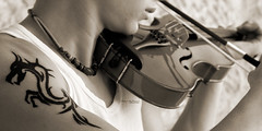 The art of music is limited to none. (Fatin Al Tamimi) Tags: music musical violin strings