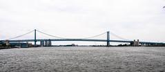 Benjamin Franklin Bridge I-676 over the Delaware River (mbell1975) Tags: bridge philadelphia river puente franklin unitedstates bur pennsylvan