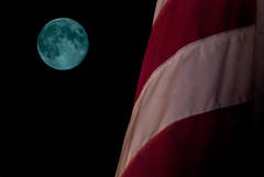 Blue Moon Over Labor Day (John M. Kennedy) Tags: sky usa moon holiday night composition america photography flag fullmoon starsandstripes laborday bluemoon starsstripes abigfave flickrdiamond johnmkennedy blinkagain bestofblinkwinners rememberthatmomentlevel1 rememberthatmomentlevel2
