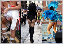 Cheeky Collage (The Old Brit) Tags: costumes collage liverpool fun humour cheeky exhibitionism bums backside outrageous merseyside capitalofculture liverpoolpride liverpoolgaypride brazilica2012