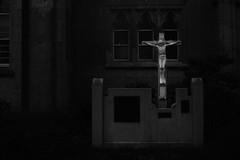untitled (Noisy Paradise) Tags: bw church monochrome japan christ sigma dp inri kanagawa merrill foveon  noisyparadise sigmadp2merrill