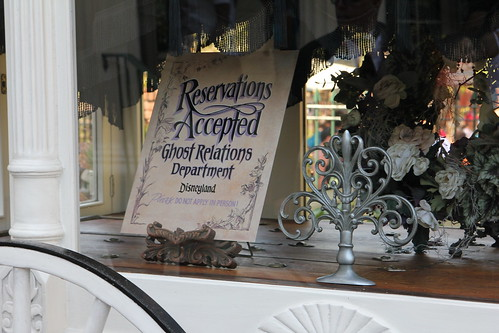 Secret Disneyland Reservations Accepted sign