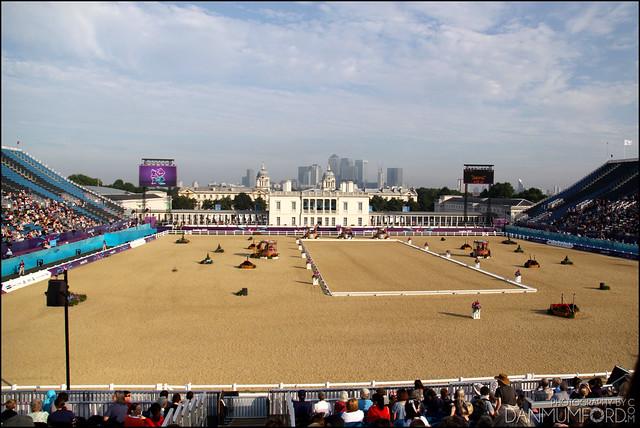 Greenwich Park Equestrian Arena