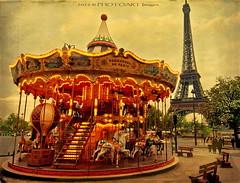Circuitous (PhotoArt Images) Tags: paris carousel eiffel merrygoround photoart parisinthespringtime bestartever bestevercompetitiongroup photoartimages
