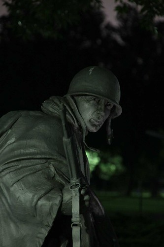 From flickr.com: Korean War Veterans Memorial {MID-189597}