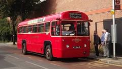 RF433 stands at Clifton Terrace, Finsbury Park (Lou Lou Donut) Tags: london archway highgate hampsteadheath finsburypark goldersgreen londonbus londontransport spaniardsinn highgatevillage route210 rf433 rfbus rf60thanniversary regalivbus route210rfrunningday route210rfanniversary