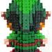 Pixel Art 3D Fimo 03