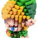 Pixel Art 3D Fimo 19