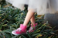 Love little feet in converses