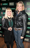 Jill Verrechia and Sinead McNamara at the Jameson Launch Party for the Hot Press Yearbook 2012 at The Workman's Club,Dublin..Picture Brian McEvoy