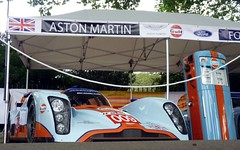 AMR-Lola (BenGPhotos) Tags: auto blue orange car race chelsea gulf martin lola racing legends british endurance aston 2012 v12 dbr12