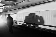 Looming shadow (_markforbes_) Tags: bw blackwhite melbourne x100