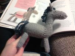 knitivity donkey (L-C-R) Tags: knitting donkey sep fo 2012 knitivity flickrandroidapp:filter=none