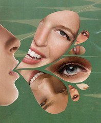 ur blowing us away (nothing332211) Tags: art girl face grass collage eyes air lips blow jordan magazines crush chamblee